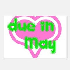 Due in May Postcards (Package of 8)
