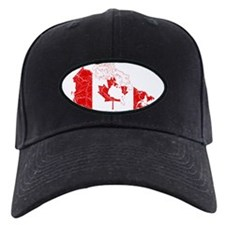 Canada Flag And Map Baseball Hat
