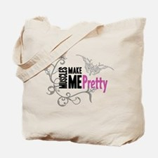 Muscles Make Me Pretty Tote Bag