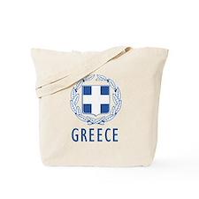 Greece Coat Of Arms Tote Bag