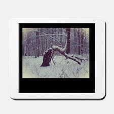 Winter Fae Tree Mousepad