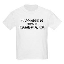 Cambria - Happiness Kids T-Shirt