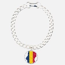 Chad Flag And Map Bracelet
