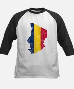 Chad Flag And Map Tee