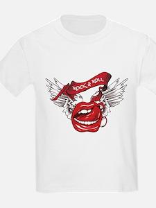 Rock n Roll Text make juice T-Shirt