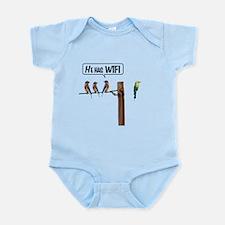 He has WiFi Infant Bodysuit