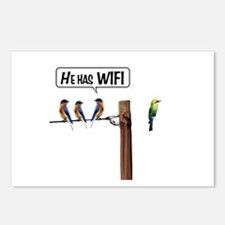 He has WiFi Postcards (Package of 8)