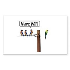 He has WiFi Decal