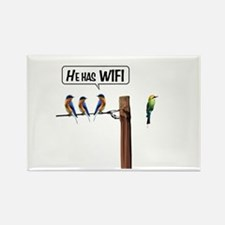 He has WiFi Rectangle Magnet (10 pack)