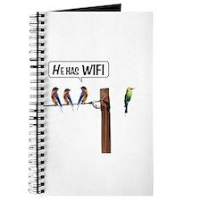 He has WiFi Journal