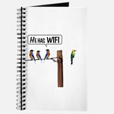 He has WiFi Journal