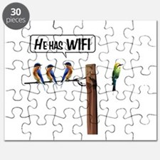 He has WiFi Puzzle