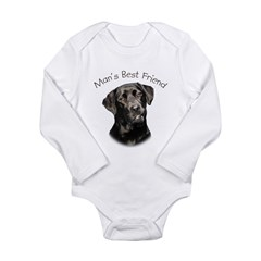 Man's Best Friend Long Sleeve Infant Bodysuit