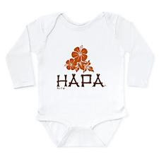 Hapa Long Sleeve Infant Bodysuit