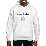 Rescue Dog Dad Hooded Sweatshirt