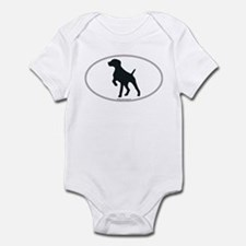 GS Pointer Silhouette Infant Creeper
