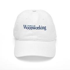 Baseball Cap with Blue POPULAR WOODWORKING logo