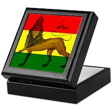 Rasta Lion of Judah Keepsake Box