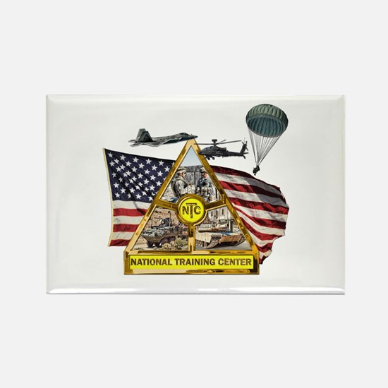Fort Irwin Rectangle Magnet