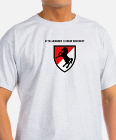SSI - 11th Armored Cavalry Regiment with Text Ligh