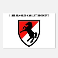 SSI - 11th Armored Cavalry Regiment with Text Post