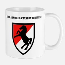 SSI - 11th Armored Cavalry Regiment with Text Mug