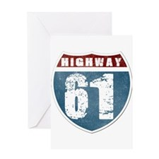 Highway 61 Greeting Card
