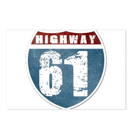 Highway 61 Postcards (Package of 8)