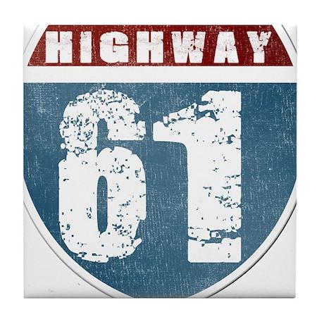 Highway 61 Tile Coaster