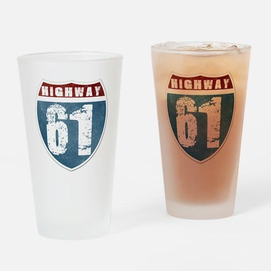 Highway 61 Drinking Glass