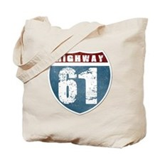 Highway 61 Tote Bag