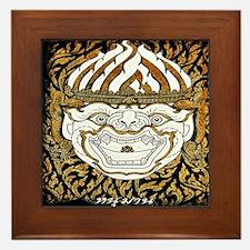 Lai Thai3 Framed Tile
