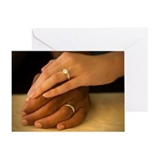 Married Hands Greeting Card