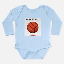 Basketball (f) Long Sleeve Infant Bodysuit