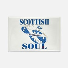Scotland Football Soul Design Rectangle Magnet