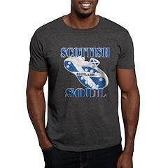 Scotland Football Soul Design T-Shirt