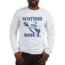 Scotland Football Soul Design Long Sleeve T-Shirt