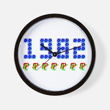 1982 Pengo Penguin Wall Clock