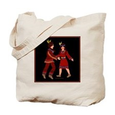 Native American Indian Tale Tote Bag