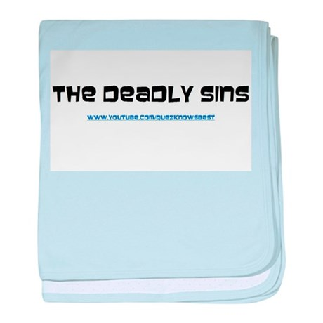 The Deadly Sins Main Channel baby blanket