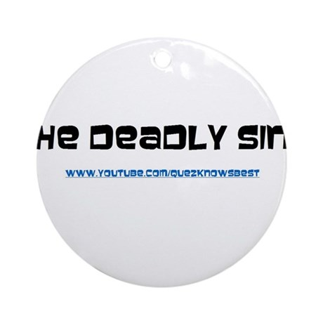 The Deadly Sins Main Channel Ornament (Round)