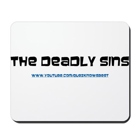 The Deadly Sins Main Channel Mousepad