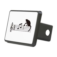 Cat Toying with Note v.1 Hitch Cover