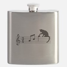Cat Toying with Note v.1 Flask