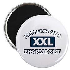 Property of Pharmacist Magnet