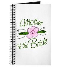 Pink Flower Mother of Bride Journal