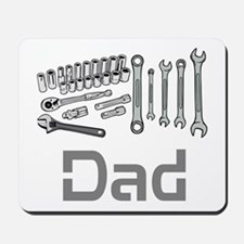 Dad, Tools, Wrenches. Mousepad