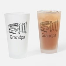 Grandpa, DIY Tools. Drinking Glass