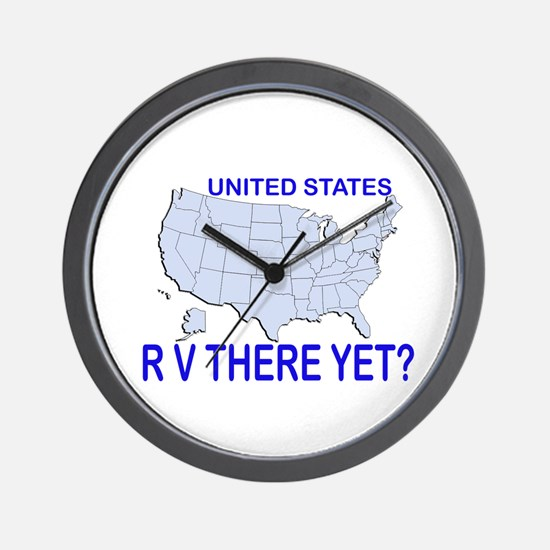 RV There Yet? clock