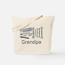 Grandpa, DIY Tools. Tote Bag
